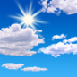 Mostly sunny, with a high near 63. Northeast wind 3 to 7 mph.